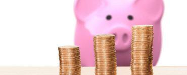 Sparschwein mit Münzgeld